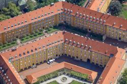 Жилой район Борстай в Мюнхене: дома для рабочих, похожие на дворцы
