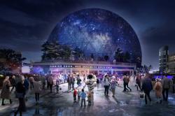 В Лондоне планируют построить еще одну концертную «арену» – в виде огромной полусферы