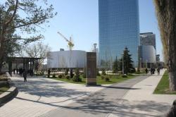 Прогулки по Волгограду. Сквер Пушкина