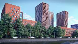 Многофункциональный комплекс с апартаментами, подземным паркингом и коммерческими площадями