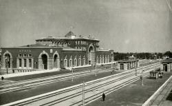 Вокзал в Курске. 1948-1952. Архитектор Игорь Явейн