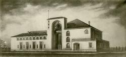 Вокзал в Новгороде. 1948-1952. Архитектор Игорь Явейн