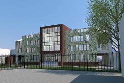 Реконструкция детского сада на ул. Новокузнецкой