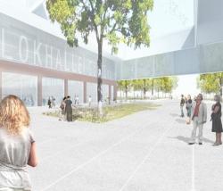 Новый корпус культурного центра Lokhalle © Anderhalten Architekten
