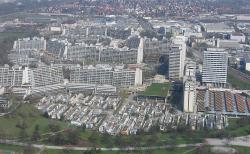 Олимпийская деревня в Мюнхене. 1972