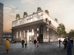 Конкурсный проект реконструкции зала Сити-холл в Перте (Шотландия). 2017