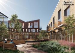 Концептуальный проект зданий стационарных организаций социального обслуживания граждан старших возрастных групп
