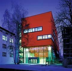 Общественный центр Центра Макса Дельбрюка в Берлине (1999 - 2001)