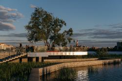 Проект развития и благоустройства набережных системы озера Кабан
