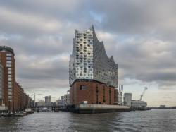 Здание Эльбской Филармонии в Гамбурге