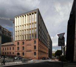 Проект реконструкции здания на Большом Николоворобинском переулке с приспособлением под жилье