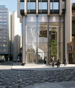 Вестибюль Southbank Tower