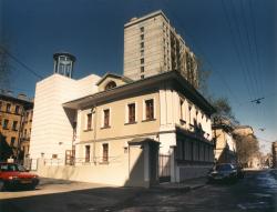 Building of the TV-studio ABC News & HNK at the Miaskovskogo street