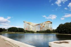 Штаб-квартира «Яндекс» на Воробьевых горах