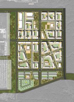 Концепции архитектурно-планировочного решения микрорайона в городе Саров