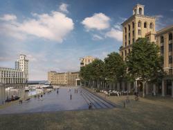 На юге Англии появится «умный» город в «псевдоисторическом» стиле по проекту Леона Крие