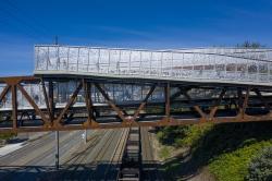 Пешеходный мост Гранд-авеню-парк-бридж