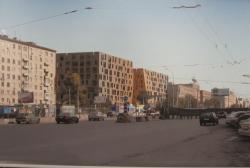 Административно-деловой комплекс с подземным паркингом на Ленинградском проспекте