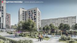 Проект планировки территории микрорайонов 15-16 Б района Богородское