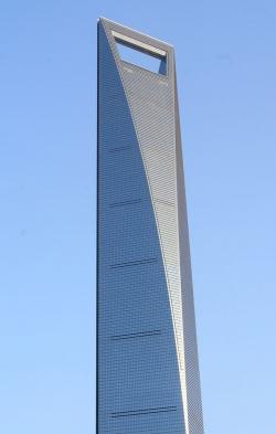 Шанхайский Всемирный финансовый центр. Фото: Ferox Seneca via Wikimedia Commons. Лицензия CC-BY-SA-3.0