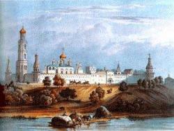 Симонов монастырь возрождается