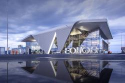 Пассажирский терминал «Алексей Леонов» аэропорта в Кемерово