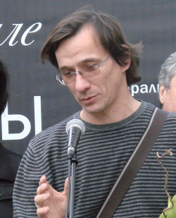 Тимур Башкаев на церемонии вручения наград АрхМосквы-2008. Фото Юлии Тарабариной