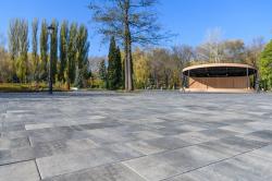 Тротуарная плитка BRAER: многообразие форм и цветов
