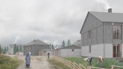 Архитектурная концепция нового жилого фонда поселка Соловецкий