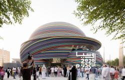 Павильон России на всемирной выставке ЭКСПО 2020 в Дубае