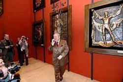 Зураб - нарушитель спокойствия. Выставка Церетели в Манеже