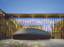 Здании исследовательского института леса Metla House (SAPK Architects, Joensuu, 2004).