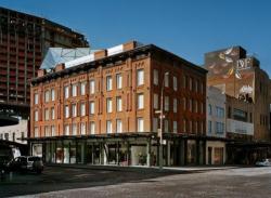 Штаб-квартира дизайнерской империи Diane von Furstenberg (DVF) на пересечении 14-й стрит и Вашингтон стрит, Манхэттен.
