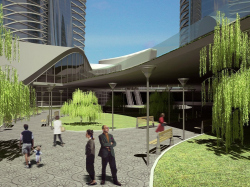 """Public and business centre """"Commonwealth towers"""" in Ufa"""