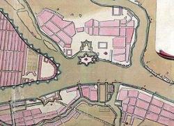 Бурхард Миних. Проект защиты Петербурга от наводнений. 1727 год