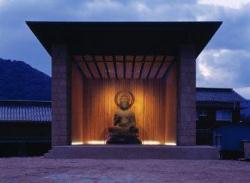Музей для деревянного Будды, Тойора, префектура Ямагучи, 2001-2002