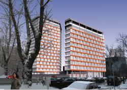 Apartment building, the 2d Donskoi passage