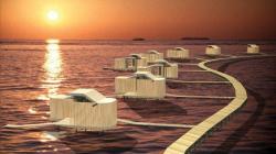 Курортный комплекс на Мальдивских островах