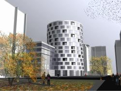 Apartment building, Komsomolsky avenue