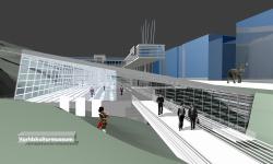 Gothenburg Ethnographic Museum, contest project, encouragement prize