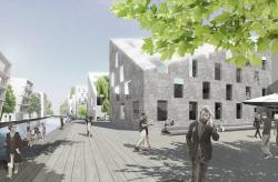 Выставочный жилой квартал на Кауфхаус-канале