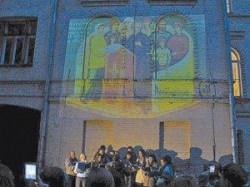 Музыка против архитектуры. В центре Москвы прошла акция в защиту дома преподавателей Синодального училища