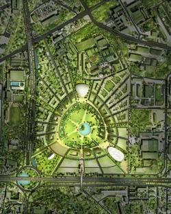 Центральный район Софии - конкурсный проект