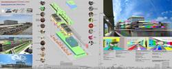 Проект комплексной реконструкции ТТЦ «Останкино». Проект, показанный на выставке «Новые имена», Арх Москва – 2009