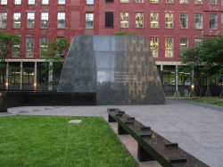 Мемориал африканским рабам в Нью-Йорке
