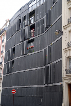 Жилой дом на улице Де Сюис