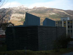 Защитный корпус для археологических остатков древнеримского периода