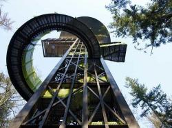 «Лесная башня»–смотровая башня в имении Сховенхорст. Путтен, Нидерланды. 2004-2009