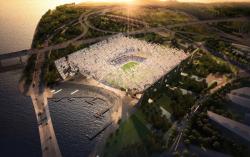Стадион команды Dalian Shide - конкурсный проект