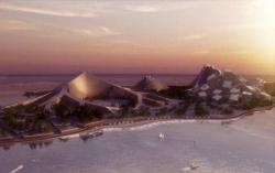Генплан застройки острова Зира в Каспийском море